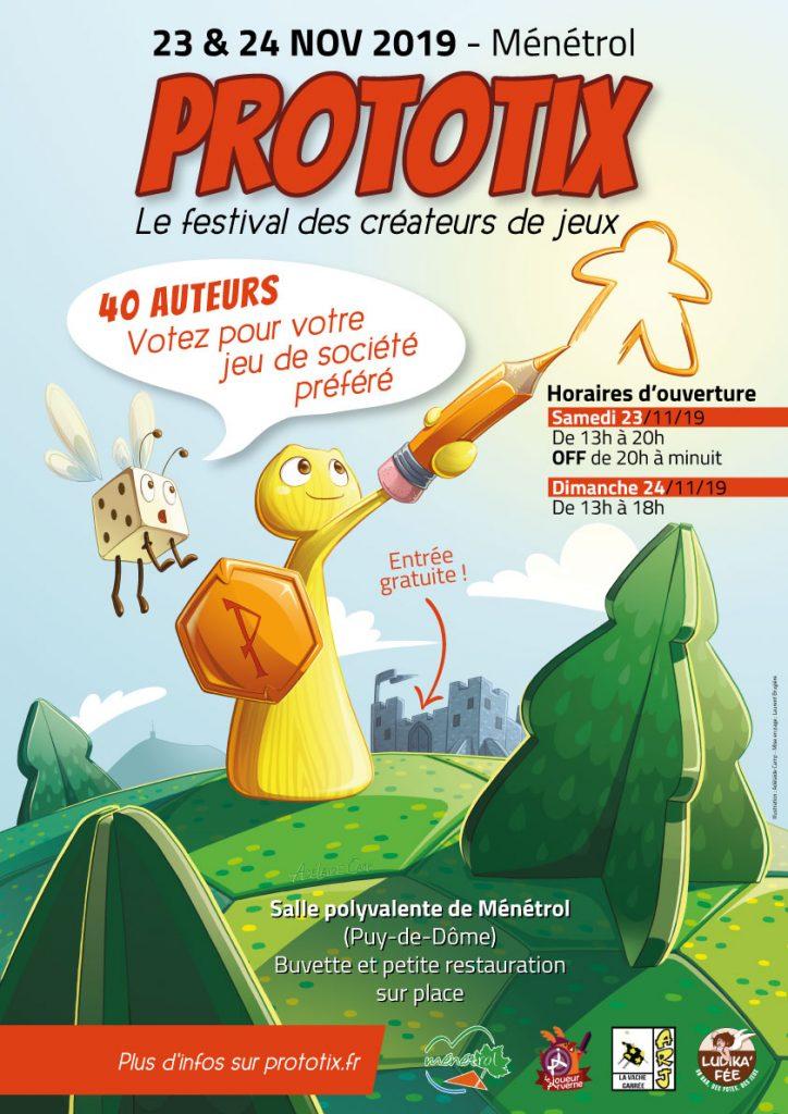 Affiche officielle du Festival Prototix